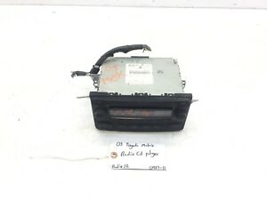 05 06 07 08 Toyota Matrix Radio Cd Player Oem 86120 02400