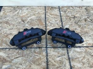 Audi Rs6 C5 4 2 L Bi Turbo 6 Position Front Brembo Brake Caliper Calipers Set