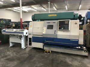 Daewoo Puma Puma 230msc Cnc Lathe Turning Center Live Tools Sub Spindle