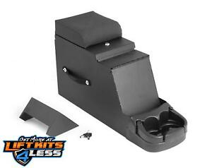 Rugged Ridge 13104 01 Textured Blk Center Console For 76 95 Jeep Cj 5 Cj 8 Yj