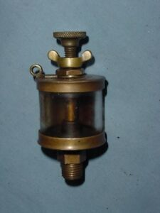 Powell Pilgrim 1 Hit Miss Gas Steam Engine Brass Oiler