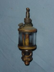 Hit Miss Gas Steam Engine Brass Cylinder Brass Oiler