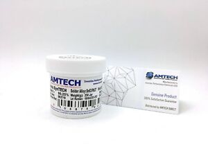 Amtech Sn63 pb37 t3 No clean Solder Paste 250g Jar syntech