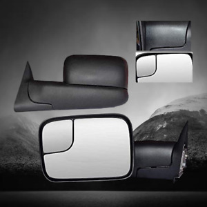 Fit For 1998 2001 Dodge Ram 1500 1998 2002 Dodge Ram 2500 3500 Truck Tow Mirrors