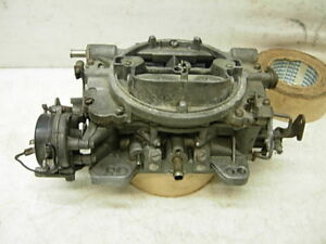 Eo 9626 Sa Carter Afb 4bbl Carburetor 625 Cfm Amc Chevy Pontiac Olds Ford Mopar