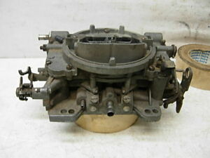Eo 9625 Sa Carter Afb 4bbl Carburetor 625 Cfm Amc Chevy Pontiac Olds Ford Mopar