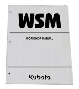 Kubota Bx1800 Bx2200 Tractor Workshop Service Repair Manual Shop Book