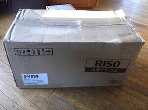 New In The Box Riso Ez220 Ez221 Duplicator Drum Part S4889