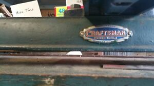 Craftsman Metal Lathe Complete With Bench And All Parts