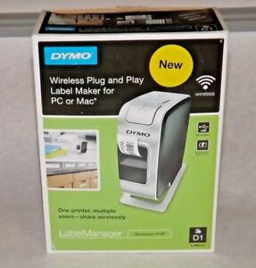 Dymo 1812570 Labelmanager Pnp Thermal Transfer Printer Used No Starter Tape