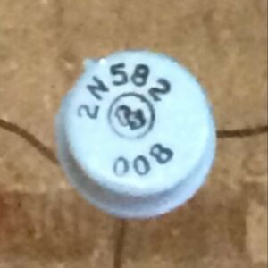 310ea Baby Blue Tung sol Ts 2n582 Pnp To 5 Transistors New In Boxes