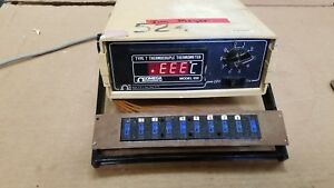 Omega Model 650 Type T Thermocouple Thermometer