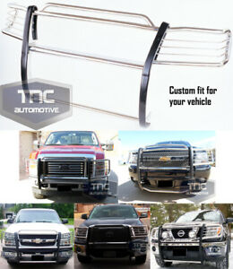 2004 13 Chevy Colorado Gmc Canyon Grill Brush Guard Chrome Stainless Steel