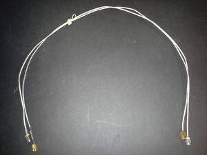 Rf Cables 18 Ghz 24 Thin Flexible Sma M m Us Made Top Quality
