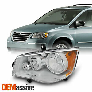 Fits 2008 2016 Chrysler Town Amp Country Driver Left Side Headlight Front Lamp Fits 2011 Chrysler Town Amp Country