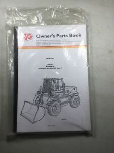 Jcb 520 Loadall Owners Parts Book Manual