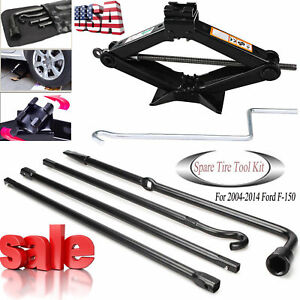 For Ford F150 Spare Tire Tool Change Kit Car Jack Handle Lug Wrench Cl3z 17080 B