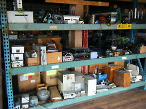Huge Lot Of Lab Glassware And Old Equipment Take All