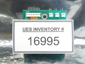 Ultratech Stepper 03 15 02305 Photo Preamplifier Pcb Ultrastep 4700 Used Working