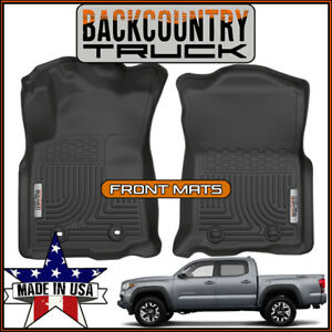 New Backcountrytruck Front Row Floor Mats Liners Fit 2016 2017 Toyota Tacoma