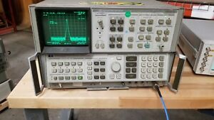 Hp 8566b Spectrum Analyzer 100hz 2 5ghz 2 22ghz Read