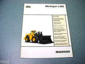 Michigan L480 Wheel Loader Brochure