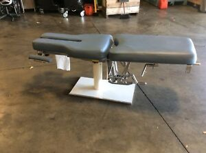 Barnes Stationary Chiropractic Table With Manual Flexion Free Shipping