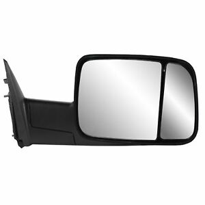 2017 2018 Dodge Ram 2500 Flip Out Head Manual Tow Mirror Passenger Right Side