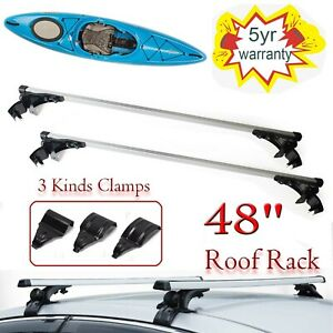 For Vw Jetta 2006 2017 48 Top Luggage Cross Bar Roof Rack Carrier For Kayak New