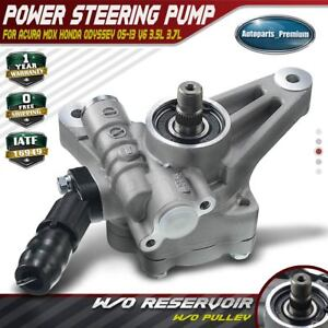 New Power Steering Pump For 07 13 Acura Mdx 05 10 Honda Odyssey 6cyl 3 5l 3 7l