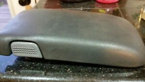 Arm Rest Console Lid 1998 To 2002 Firebird Trans Am grey slate real Nice