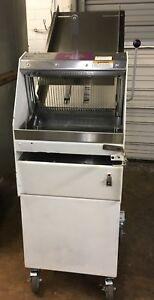 Bakers Aid Berkel Gmb Gravity Fed Bread Slicer Reduced