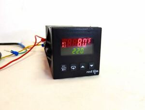 Red Lion T1641100 Pid Temperature Controller Rtd thermocouple In Analog Out
