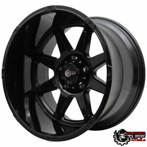 Full Black Wheels Rims For Dodge Ram 1500 20x12 20 5x5 5 5x139 Dakota Durango