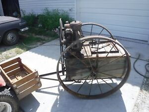 Hardie Orchard Sprayer Brigs straton A Gas Engine Antique Vintage Hitmiss Engine