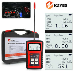 Kzyee Km 20 Car Spark Ignition Plug Tester Analyzer Automotive Diagnostic Tool