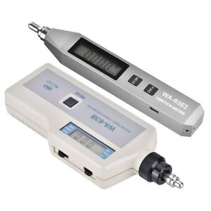 Wa 63b ei Digital Vibration Meter Handheld Portable Vibration Analyzer Vibromete