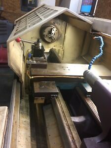 Bridgeport Ez Path Ii Cnc Lathe Used Excellent Condition Currently In Production