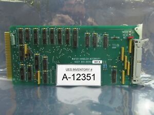 Svg Silicon Valley Group 851 8514 007 Wafer Handler Pcb Card Rev B 90s Used