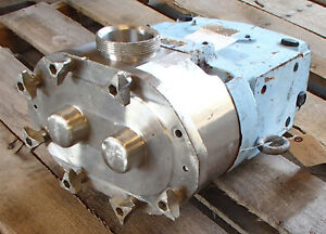 Spx Waukesha Cherry burrell Positive Displacement Pump 130u1 Used Take Out