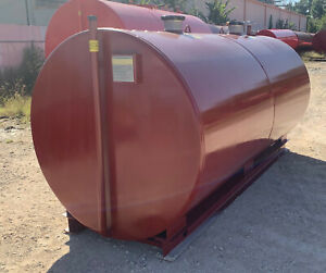 2000 Gallon Ul 142 Aboveground Double Wall Fuel Storage Tank