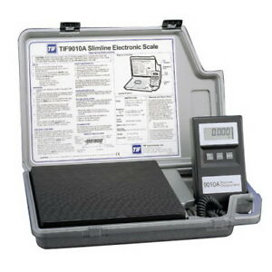 Robinair Tif9010a Slimline Refrigerant Electronic Charging Scale