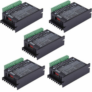 5pcs Cnc Single Axis 4a Tb6600 2 4 Phase Hybrid Stepper Motor Drivers Controller