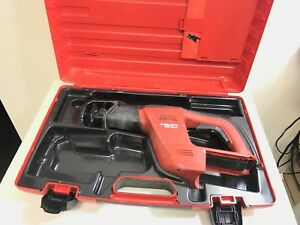 Hilti Wsr 650 a 24v Reciprocating Saw Sawzall Free Shipping