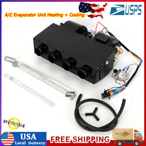 Universal Under Dash Ac Air Conditioning Evaporator Kit Heat Cool 12v 404 000
