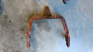 Farmall Ih Sa Super A 100 130 Tractor Drawbar 140 With Hitch Brackets