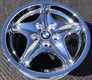 1 New Chrome 17 Bmw M3 M Roadster Coupe Factory Oem Wheel Rim 59263 Front