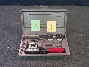 Jasco wolco J3ce01801 Cuttig Flaring Tool Kit Hand Pipe Military New