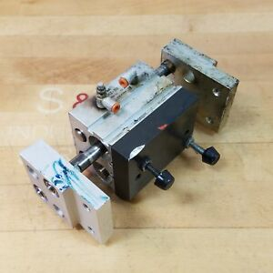 Smc Mhl2 25d Pnuematic Cylinder Air Gripper 25mm Bore 25mm Stroke Used