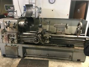 Yam 22 X 60 Gap Type Engine Lathe With 2 axis Dro Inch metric And Tooling